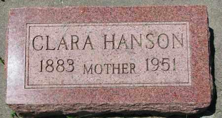 HANSON, CLARA - Clay County, South Dakota | CLARA HANSON - South Dakota Gravestone Photos