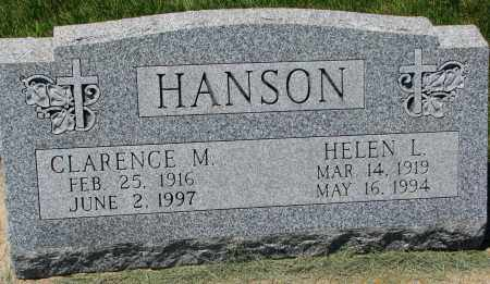 HANSON, CLARENCE M. - Clay County, South Dakota | CLARENCE M. HANSON - South Dakota Gravestone Photos