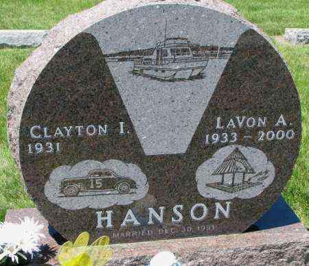 HANSON, CLAYTON I. - Clay County, South Dakota | CLAYTON I. HANSON - South Dakota Gravestone Photos