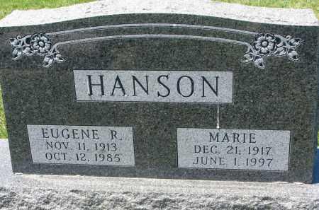 HANSON, EUGENE R. - Clay County, South Dakota | EUGENE R. HANSON - South Dakota Gravestone Photos