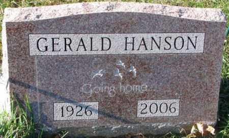 HANSON, GERALD - Clay County, South Dakota | GERALD HANSON - South Dakota Gravestone Photos
