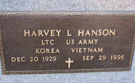 HANSON, HARVEY L. (MILITARY) - Clay County, South Dakota | HARVEY L. (MILITARY) HANSON - South Dakota Gravestone Photos