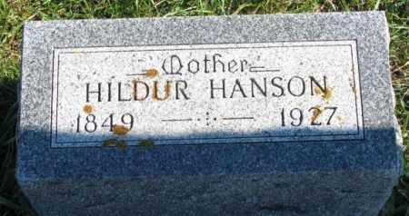 HANSON, HILDUR - Clay County, South Dakota | HILDUR HANSON - South Dakota Gravestone Photos
