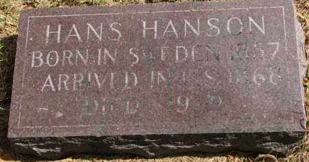 HANSON, HANS - Clay County, South Dakota | HANS HANSON - South Dakota Gravestone Photos