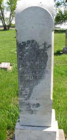 HANSON, IDA L. - Clay County, South Dakota | IDA L. HANSON - South Dakota Gravestone Photos