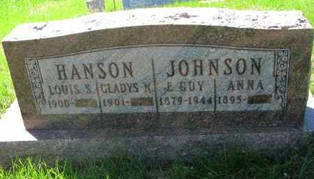 HANSON, LOUIS S. - Clay County, South Dakota | LOUIS S. HANSON - South Dakota Gravestone Photos