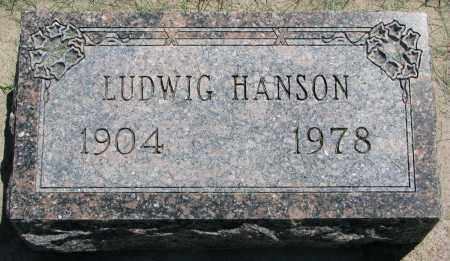 HANSON, LUDWIG - Clay County, South Dakota   LUDWIG HANSON - South Dakota Gravestone Photos