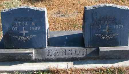HANSON, METHA M. - Clay County, South Dakota | METHA M. HANSON - South Dakota Gravestone Photos