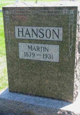 HANSON, MARTIN - Clay County, South Dakota   MARTIN HANSON - South Dakota Gravestone Photos