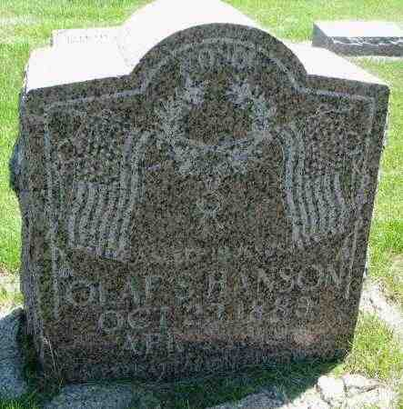 HANSON, OLAF S. - Clay County, South Dakota | OLAF S. HANSON - South Dakota Gravestone Photos