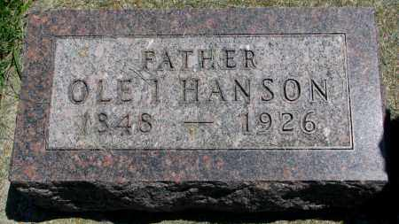 HANSON, OLE I. - Clay County, South Dakota | OLE I. HANSON - South Dakota Gravestone Photos
