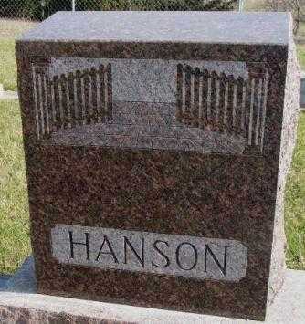 HANSON, PLOT - Clay County, South Dakota | PLOT HANSON - South Dakota Gravestone Photos