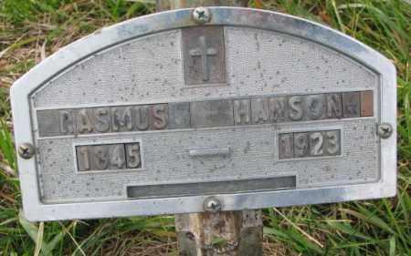 HANSON, RASMUS - Clay County, South Dakota | RASMUS HANSON - South Dakota Gravestone Photos