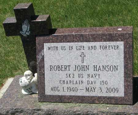 HANSON, ROBERT JOHN - Clay County, South Dakota | ROBERT JOHN HANSON - South Dakota Gravestone Photos