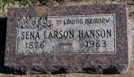HANSON, SENA - Clay County, South Dakota   SENA HANSON - South Dakota Gravestone Photos