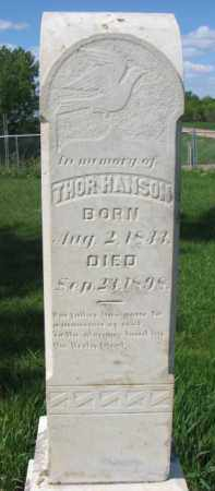 HANSON, THOR - Clay County, South Dakota | THOR HANSON - South Dakota Gravestone Photos