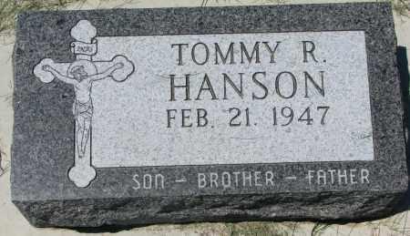 HANSON, TOMMY R. - Clay County, South Dakota | TOMMY R. HANSON - South Dakota Gravestone Photos