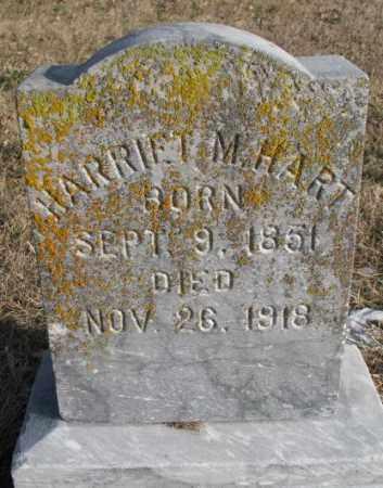 HART, HARRIET M. - Clay County, South Dakota | HARRIET M. HART - South Dakota Gravestone Photos