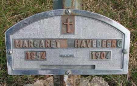 HAVEBERG, MARGARET - Clay County, South Dakota   MARGARET HAVEBERG - South Dakota Gravestone Photos