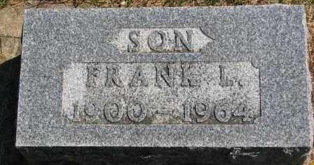HEDLIN, FRANK L. - Clay County, South Dakota | FRANK L. HEDLIN - South Dakota Gravestone Photos