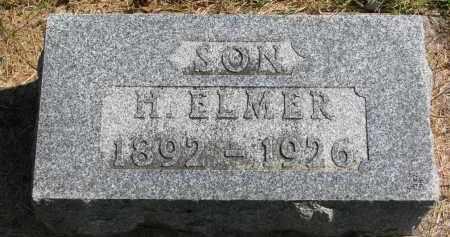 HEDLIN, H. ELMER - Clay County, South Dakota | H. ELMER HEDLIN - South Dakota Gravestone Photos
