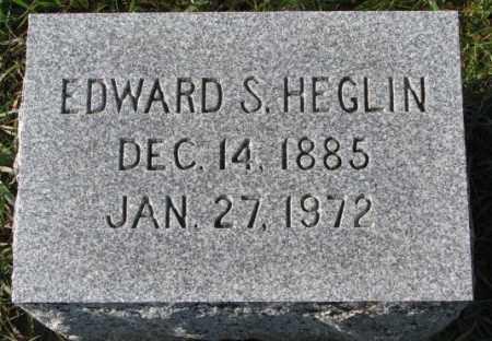 HEGLIN, EDWARD S. - Clay County, South Dakota | EDWARD S. HEGLIN - South Dakota Gravestone Photos
