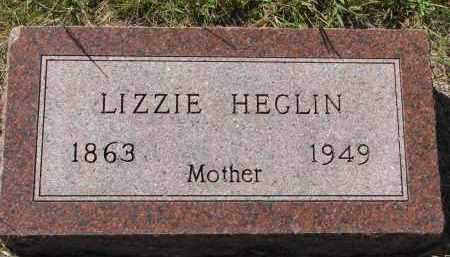 HEGLIN, LIZZIE - Clay County, South Dakota   LIZZIE HEGLIN - South Dakota Gravestone Photos
