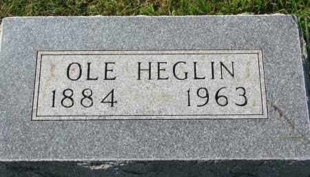 HEGLIN, OLE - Clay County, South Dakota | OLE HEGLIN - South Dakota Gravestone Photos