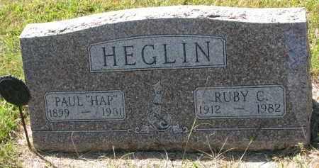 HEGLIN, RUBY C. - Clay County, South Dakota   RUBY C. HEGLIN - South Dakota Gravestone Photos