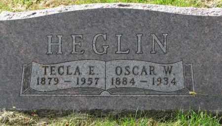 HEGLIN, OSCAR W. - Clay County, South Dakota | OSCAR W. HEGLIN - South Dakota Gravestone Photos