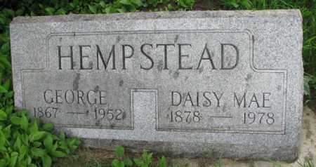 HEMPSTEAD, GEORGE - Clay County, South Dakota | GEORGE HEMPSTEAD - South Dakota Gravestone Photos
