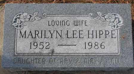 HIPPE, MARILYN LEE - Clay County, South Dakota | MARILYN LEE HIPPE - South Dakota Gravestone Photos