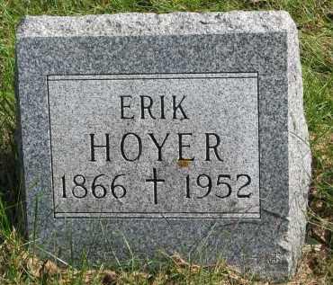 HOYER, ERIK - Clay County, South Dakota | ERIK HOYER - South Dakota Gravestone Photos