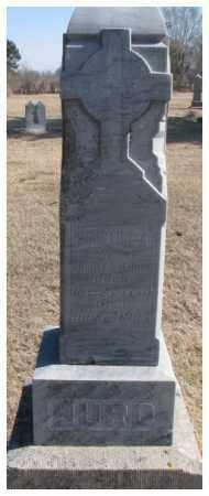 HURD, CHRISTINE A. - Clay County, South Dakota   CHRISTINE A. HURD - South Dakota Gravestone Photos