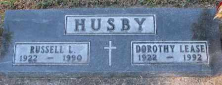 LEASE HUSBY, DOROTHY - Clay County, South Dakota | DOROTHY LEASE HUSBY - South Dakota Gravestone Photos