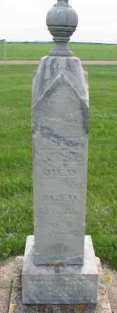 IVERSON, ASLAK - Clay County, South Dakota | ASLAK IVERSON - South Dakota Gravestone Photos