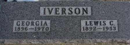 IVERSON, GEORGIA - Clay County, South Dakota | GEORGIA IVERSON - South Dakota Gravestone Photos