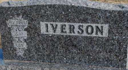 IVERSON, PLOT - Clay County, South Dakota   PLOT IVERSON - South Dakota Gravestone Photos