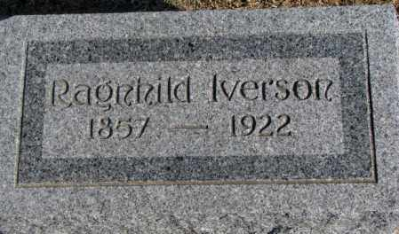 IVERSON, RAGNHILD - Clay County, South Dakota | RAGNHILD IVERSON - South Dakota Gravestone Photos