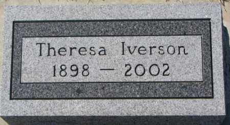 IVERSON, THERESA - Clay County, South Dakota | THERESA IVERSON - South Dakota Gravestone Photos