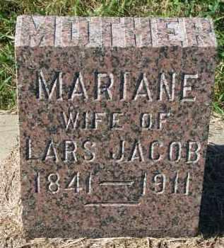 JACOB, MARIANE - Clay County, South Dakota | MARIANE JACOB - South Dakota Gravestone Photos