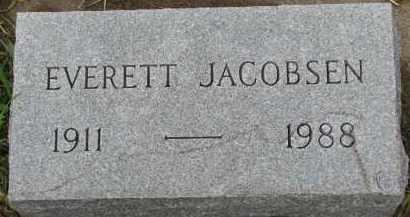 JACOBSEN, EVERETT - Clay County, South Dakota | EVERETT JACOBSEN - South Dakota Gravestone Photos