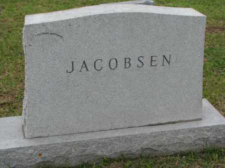 JACOBSEN, FAMILY STONE - Clay County, South Dakota   FAMILY STONE JACOBSEN - South Dakota Gravestone Photos