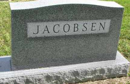 JACOBSEN, FAMILY STONE - Clay County, South Dakota | FAMILY STONE JACOBSEN - South Dakota Gravestone Photos
