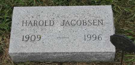 JACOBSEN, HAROLD - Clay County, South Dakota | HAROLD JACOBSEN - South Dakota Gravestone Photos