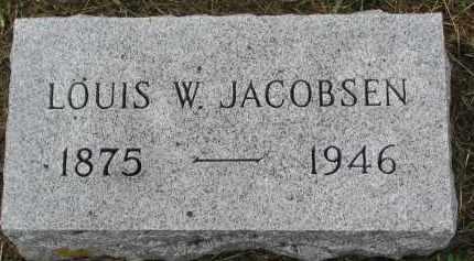 JACOBSEN, LOUIS W. - Clay County, South Dakota | LOUIS W. JACOBSEN - South Dakota Gravestone Photos