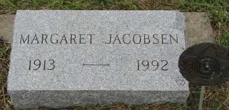 JACOBSEN, MARGARET - Clay County, South Dakota   MARGARET JACOBSEN - South Dakota Gravestone Photos