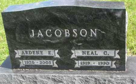 JACOBSON, NEAL C. - Clay County, South Dakota | NEAL C. JACOBSON - South Dakota Gravestone Photos