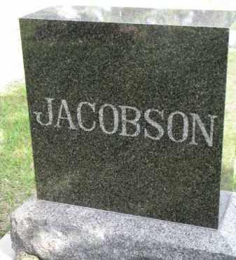 JACOBSON, FAMILY STONE - Clay County, South Dakota | FAMILY STONE JACOBSON - South Dakota Gravestone Photos