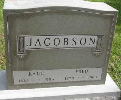 JACOBSON, FRED - Clay County, South Dakota | FRED JACOBSON - South Dakota Gravestone Photos